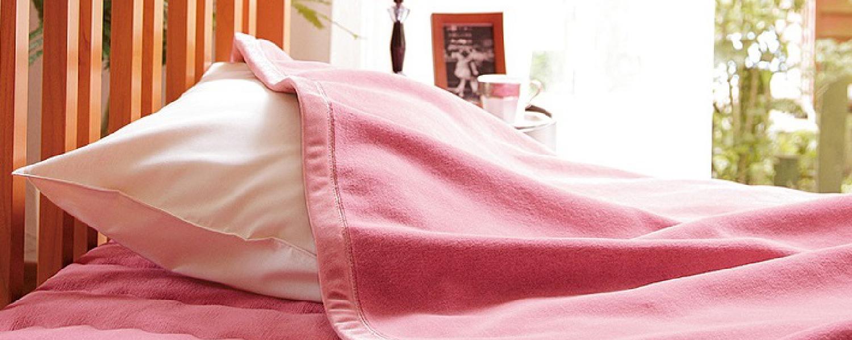 ロマンス岩盤浴敷きパッド&毛布のイメージ写真